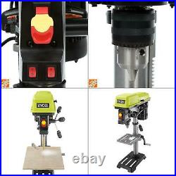 10 in. Drill press with laser ryobi light alignment speed tool bench keyed led
