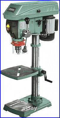 12 Bench Top Commercial Variable Speed Drill Press, Sturdy Heavy Duty Cast Iron