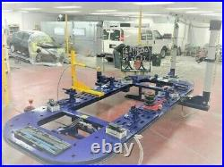 20 Feet Long Auto Body New Frame Machine 30 Ton = 3 Towers + Clamps, Tools Bench