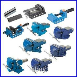 4/5/6 Heavy Duty Work Bench Vice Engineer Jaw Swivel Base Workshop Vise Clamp