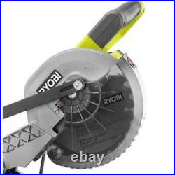 7-1/4 In. Miter Saw Heavy Duty 9 Amp Motor with 5,100 RPM