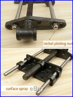 7 Inch Cabinet Maker's Vise Woodworking Bench Clamp Heavy Duty Cast Steel Wood