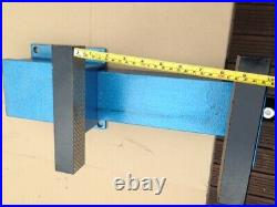 8 Heavy Duty Engineers Vice fixed Base Workshop Clamp Jaw Work Bench Table