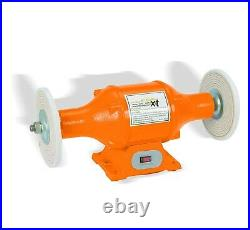 8 Long Shaft 1hp Top Bench Buffer Polisher Grinder Cleaner Heavy Duty