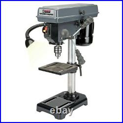 8 in. 5 Speed Bench Drill Press Table Mount Shop Home