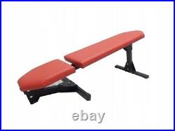Adjustable Bench Press Home Gym Workout Folding Barbell Lifting Heavy Duty