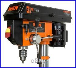Bench Top Drill Press 5 Speed Heavy Duty Variable Speed Tool with Laser Guide