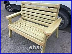 Best Wooden Bench smart stylish and heavy duty, assembled, tanalised