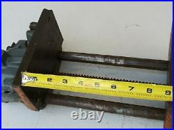 Columbian Under Bench Vise 7-CD Heavy Duty Woodworking Vintage Made in USA