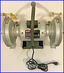 Craftsman Bench Grinder1 HP WOW 8 inch Dual Wheels Heavy Duty Excell. Cond
