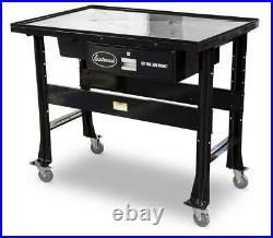 Eastwood Heavy Duty Work Bench Tear Down Table Supports 1000 Lbs Steel Surface
