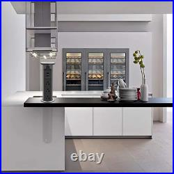 Electric Pop Up Outlet for Kitchen Counters, Automatic Pop Up Countertop Outlet
