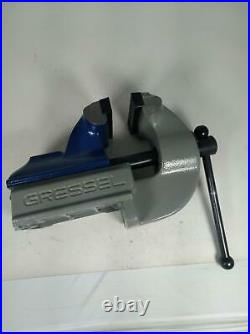 GRESSEL Swiss Precision Industrial Heavy Duty Bench Vise PS 100-1/3.9 inches