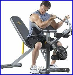 Golds Gym Olympic Full Body Utility Weight Bench for Home Heavy Duty Equipment