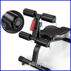 Heavy Duty Weight Bench Abs Chest Full Body Gym Workout Benches Incling Barbell