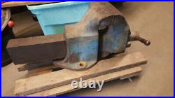 Huge Heavy Duty 8 Morgan Milwaukee Bench Vise Vice Model 80 Made In U. S. A