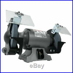 JET JBG-8A 8 Inch Stationary Workshop Table Top Bench Grinder (Without Stand)