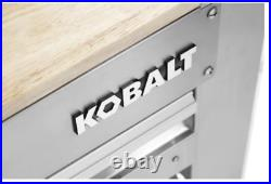 Kobalt 3-Drawer Work Bench SS Integrated Peg Board with Storage Tray Heavy Duty