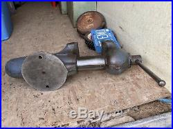 Large Wilton Bullet Vise No 6 Heavy Duty Jaw Bench Vise