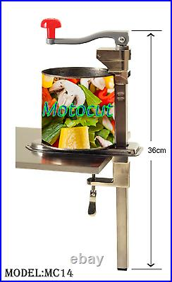 Motocut Professional Catering Commercial Bench Can Opener/Tin Opener Heavy Duty