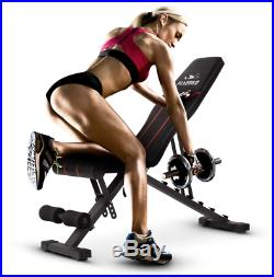 Multi-Function Adjustable Incline/Decline Bench Made Of Heavy-duty Quality Steel