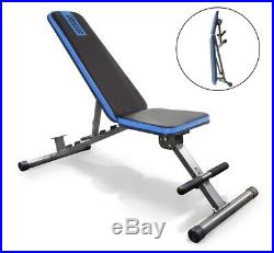 New Folding Foldable Adjustable Heavy Duty Weight Workout Bench Decline Incline