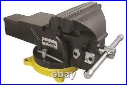 New Olympia Tool 38-647 Heavy Duty 6 Inch Cast Iron 360 Degree Bench Vise Sale