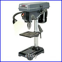New still in box 8 in. 5 Speed Bench Drill Press Table Mount Shop Home