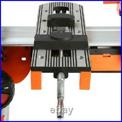 PORTAMATE Heavy Duty Portable Miter Saw Stand Quick Release Power Tool Mounts