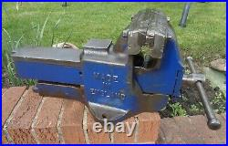 RECORD No114 QUICK RELEASE HEAVY DUTY ENGINEERS/MECHANIC BENCH VICE WORKSHOP GWO