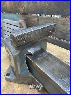 Record No112 QUICK RELEASE HEAVY DUTY BENCH VICE 6 ENGINEERS / FITTERS