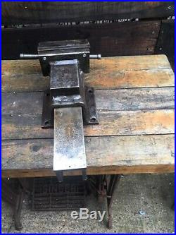 Record No 14 Leader HEAVY DUTY BENCH VICE 6 ENGINEERS / FITTERS