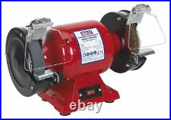Sealey BG150XWith99 Bench Grinder Ø150mm with Wire Wheel 450With230V Heavy-Duty