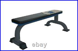 Total Body Base Flat Bench Heavy Duty Home Garage Gym Workout Weights Fitness
