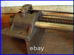 VINTAGE PARKINSONS PERFECT No. 15 CARPENTRY QUICK RELEASE BENCH VICE (Not record)