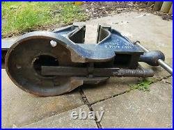 VINTAGE RECORD No 34 QUICK RELEASE HEAVY DUTY BENCH VICE 4 1/2 ENGINEERS