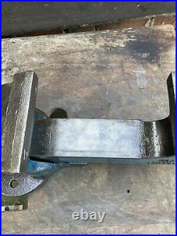 VINTAGE Record No25 QUICK RELEASE HEAVY DUTY BENCH VICE 6 ENGINEERS / FITTERS