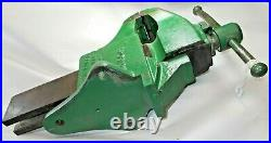 Vintage CHARLES PARKER 804 1/2 Heavy Duty Bench Vise, Pat'd 1930, 85 lbs, USA
