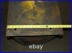 Vintage Heavy Duty Ammco Brake Lathe Work Stand Table Bench