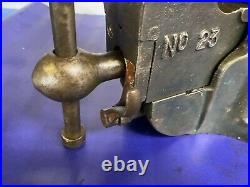 Vintage Record No. 23 Heavy-Duty Quick release Bench Vice Vise, 27.2 kg
