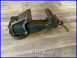 Vintage Record No. 34 Engineers Heavy-Duty Quick release Bench Vice 4.5, 15.3kg