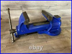 Vintage Record No. 35 Engineers Heavy-Duty Quick release Bench Vice 5 Jaws, 21kg