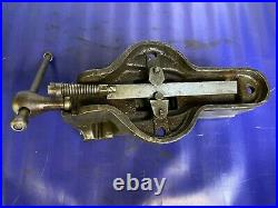 Vintage SAMSONIA PERFECT VISE No 37 MODEL J Heavy-Duty Quick release Bench Vice