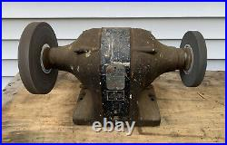 Vintage THORS 6 Heavy Duty Bench Grinder Model 5714 1/3HP 3450rpm USA MADE Thor