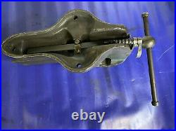 Vintage Woden by Record MODEL 186 E/7 Heavy-Duty Quick release Bench Vice 110mm