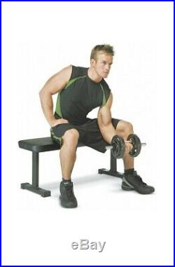 Weight Bench 600 lbs Capacity Training Ab Exercises Heavy Duty Press Bench