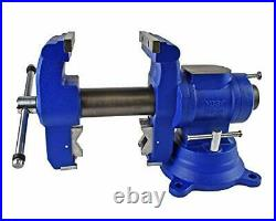 Yost Tools 750-DI 5 EXTREME-DUTY 2X Stronger Bench & Pipe Vise. Universal Do